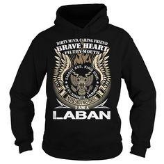 LABAN Last Name, Surname TShirt v1
