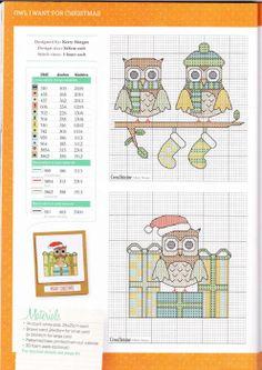 ru / Фото - From Magazines - Auroraten Cross Stitch Owl, Cross Stitch Cards, Cross Stitch Flowers, Cross Stitch Designs, Cross Stitching, Cross Stitch Embroidery, Cross Stitch Patterns, Sunbonnet Sue, Stitch Doll