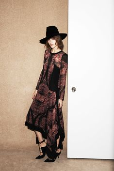 Barbara Bui Pre-Fall 2015 Fashion Show - Valery Kaufman