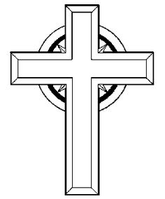 crucifix clipart black and white clipart panda free clipart rh pinterest com free clipart crosses free clip art crossing the line
