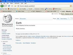 """For one minute on Towel Day 2011, the Wikipedia's Earth entry read """"Mostly Harmless"""""""