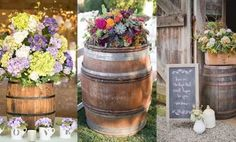 [tps_header]  Wine barrels are becoming increasingly popular in weddings!  They combine rustic, vintage, countryside and sophistication into a perfectly chic event!  If you love wine barrels then you have to check out...