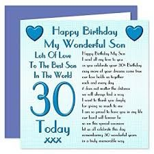 Image Result For Son S 30th Birthday Wish Happy 20th Birthday Birthday Wishes For Son Birthday Cards For Brother