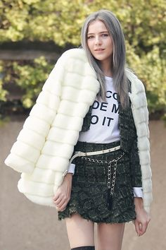 Luxe Glam Faux Mink Fur Coat - Clothing Discover the latest fashion trends online at storets.com