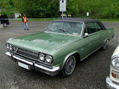 1966 Rambler Classic Rebel in Granada green