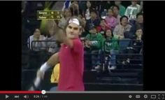 4 Aces in a row by Federer against Sampras, who reacts funny The Row, Tennis, Fans, Wrestling, Sports, Plant Bed, Lucha Libre, Hs Sports, Sport