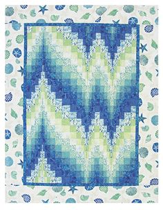 Serenity Bargello free quilt pattern from Northcott