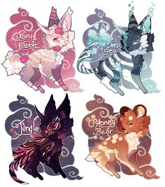 Random Adopt Set =CLOSED!= by Pekleo.deviantart.com on @DeviantArt
