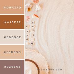 20 Summer Color Palettes and Hex Codes - 20 Summer Color Palettes and Hex Codes – Ave Mateiu Effektive Bilder, die wir über decor anbiet - Summer Color Palettes, Pantone Colour Palettes, Color Schemes Colour Palettes, Summer Colors, Pantone Color, Color Trends, Hex Color Palette, Pastel Colour Palette, Rgb Color Codes