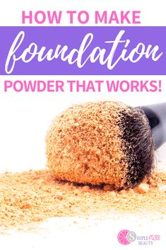 It's so easy to make your own DIY Foundation! Learn how to make homemade foundation powder and liquid foundation with these simple recipes! How To Make Foundation, Diy Makeup Foundation, Homemade Foundation, Foundation Repair, Powder Foundation, Liquid Foundation, Diy Beauty, Beauty Tips, Beauty Hacks