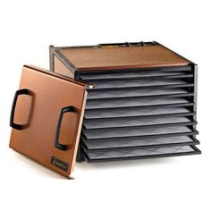 Excalibur D900AC Antique Copper Nine Rack Food Dehydrator with Timer - 600W