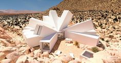 Living in a shipping container in the middle of the desert might not sound like everybody's idea of fun, but wait until you see this stunning creation by London-based designer James Whitaker.