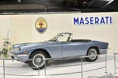 SUPERCARS.NET - Image Gallery for 1965 Maserati Mistral Spyder