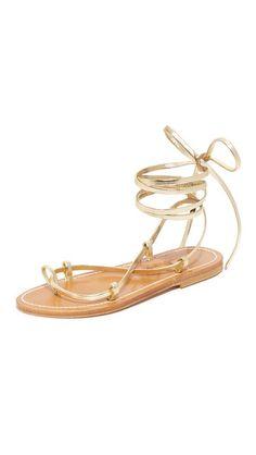 087bb162e95 Bikini Wrap Gladiator Sandals