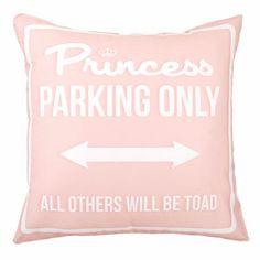 Princess Parking Only Large Rosa by Carillon design