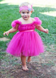 Hot Pink Full Tutu Dress