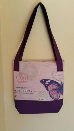 Famous purple bag R200 | handmade bags