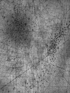Emma Mcnally's Abstract Map Drawings « Beautiful/Decay Artist & Design