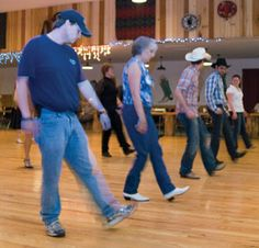 Line Dancers lessons levels 1-5