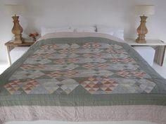 Handgemaakte quilt nummer 3 260 cm 260 cm - € 225,00 | VIA CANNELLA WOONWINKEL | CUIJK