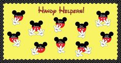 disney bulletin board borders | Disney Themed Classroom Helpers and Classroom Management Bulletin ...