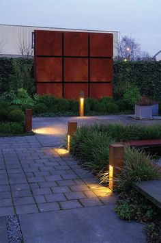 How to Light your Outdoor Space - Pathway Down Lighting  |  Akin Design Studio Blog
