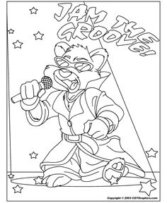 lil wayne coloring pages for kids | 1000+ images about Hand Embroidery Animals on Pinterest ...