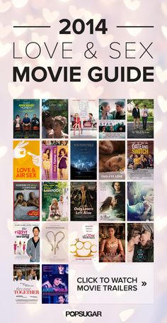 Our Ultimate Guide to Sweet and Sexy Movies Vampire lovers, nymphomaniacs, and gut-wrenching book adaptations: this year's romantic films run the gamut from heartbreaking to erotic — which one Netflix Movie List, Netflix Movies To Watch, Movie To Watch List, Good Movies To Watch, Top 10 Love Movies, Best Teen Movies, Good Comedy Movies, Romantic Comedy Movies, Teenage Movies List