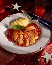 Entenbrust mit Bananen-Curry-Sauce | For me online Germany