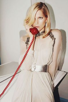 {fashion inspiration | editorial : iselin steiro by glen luchford for vogue paris} | Flickr - Photo Sharing!