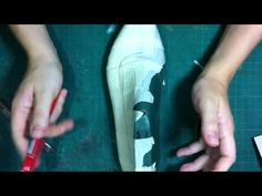 How to make shoes:Basic Pumps pattern part 1 - YouTube