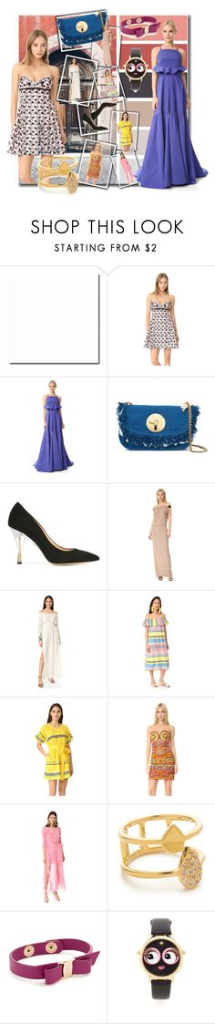 """Spring/Summer Fashion!!"" by stylediva20 on Polyvore featuring Giambattista Valli, Lela Rose, See by Chloé, Charlotte Olympia, Zero + Maria Cornejo, Loyd/Ford, Proud Mary, Lisa Marie Fernandez, Moschino and Preen"