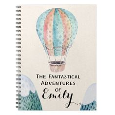Personalized Adventure Watercolor Painting Notebook