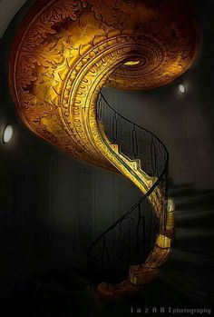 Staircase gold!