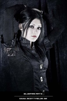 Gothic Girl: Katja III by BluefireArts on DeviantArt