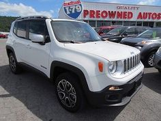 eBay: Jeep: Renegade Limited 2016 white limited #jeep #jeeplife usdeals.rssdata.net