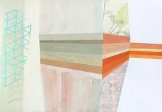 Cristina del Campo gouache, acrylic and graphite on paper