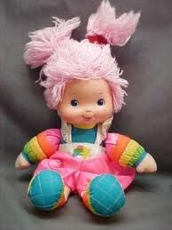 I had this pink haired baby too...I don't remember her from the series though.