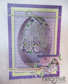 Heartfelt Creations | Owl Thinking Of You