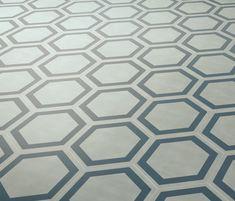 Dal Bianco Honey Bismarck de Bisazza   Concrete/cement floor tiles
