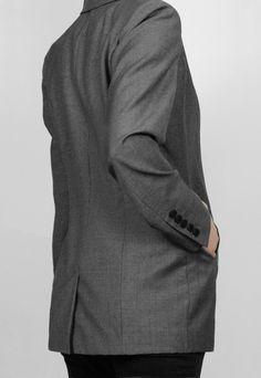 Dark Grey Blazer http://honeygold.eu/product/dark-grey-blazer/