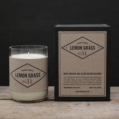 No.31 – Lemon Grass | Upwined Candles