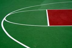 How to Put Basketball Lines on an Outdoor Basketball Court