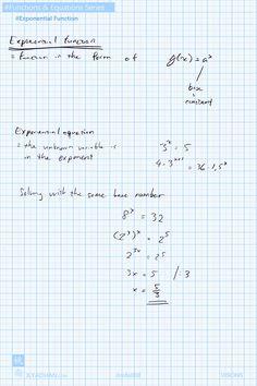 Exponential Function. #exponential #function #base number