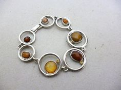 Modern Minimal Abstract Silver Statement Bracelet by JadeEclectic http://etsy.me/1ooOlEE via @Etsy #Silver #Discs #Modern #Jewelry #Bracelet