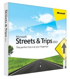 Microsoft Streets and Trips 2013 Updated street-level maps of the United States and Canada with more than 2.5 million points of interest from America's #1 travel and map software.. Plan your trip including multiple destinations, rest stops, scenic detours, fuel stops and more-all with no Internet connection required.. New! See customer ratings and reviews on businesses and take the guesswork out o... #Microsoft #Software