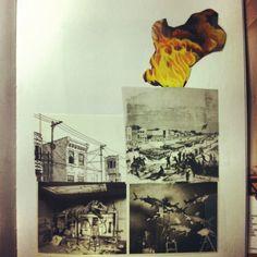 burned cities