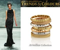 #CHIMENTO Armillas bracelets on Trends & Colours mag - July Issue