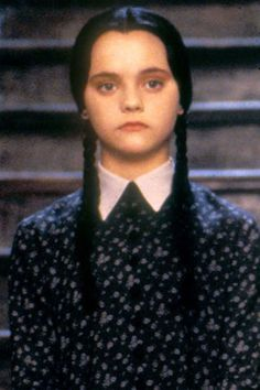 25 Halloween costume ideas that you can put together from what you already have in your closet: Wednesday Addams