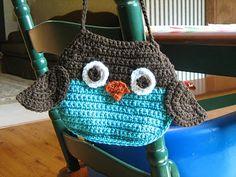 Lion Brand Crochet Owl Purse Pattern